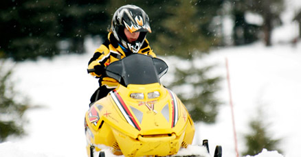 Family Snowmobile Tour